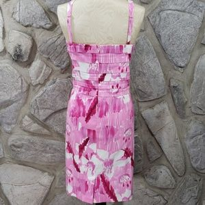 Calvin Klein Dresses - Calvin Klein Pink Watercolor Print Dress